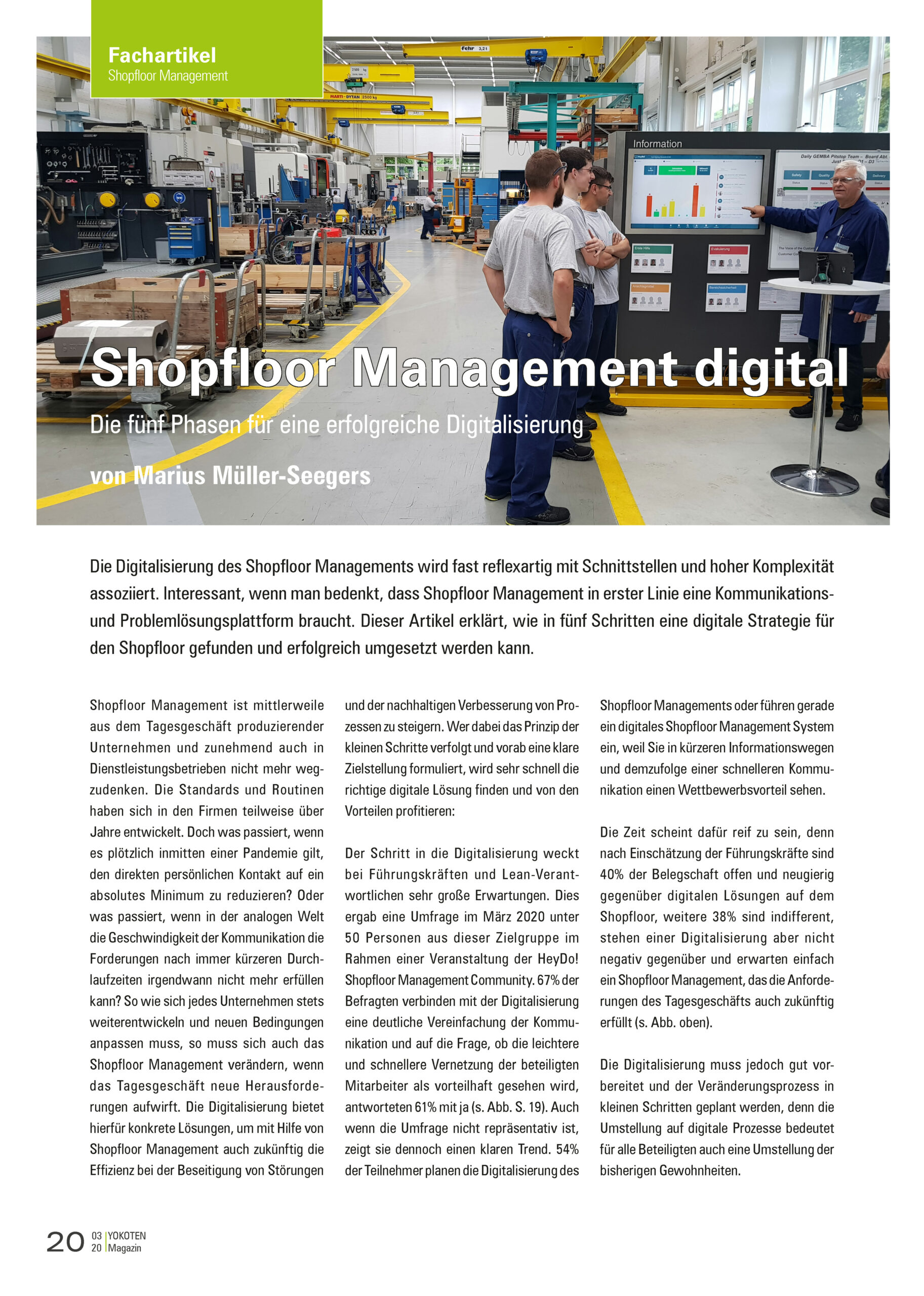 Fachartikel Shopfloor Management